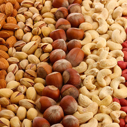 Пазл онлайн: Ореховое изобилие
