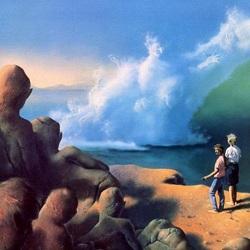 Пазл онлайн: Песок и море