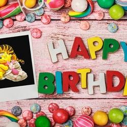 Пазл онлайн: День рожденья