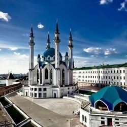 Пазл онлайн: Казанский кремль