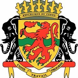 Пазл онлайн: Герб Республики Конго