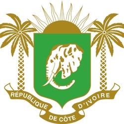 Пазл онлайн: Герб Республики Кот-д'Ивуар