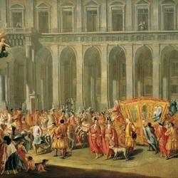 Пазл онлайн: Прогулка вице-короля Неаполя