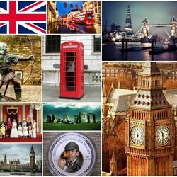 Пазл онлайн: Великобритания