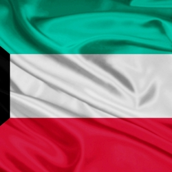 Пазл онлайн: Флаг Кувейта