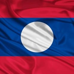 Пазл онлайн: Флаг Лаоса