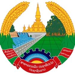Пазл онлайн: Герб Лаоса