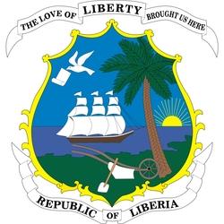 Пазл онлайн: Герб Республики Либерия