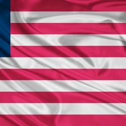 Пазл онлайн: Флаг Либерии