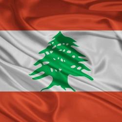 Пазл онлайн: Флаг Ливана