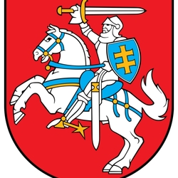 Пазл онлайн: Герб Литвы