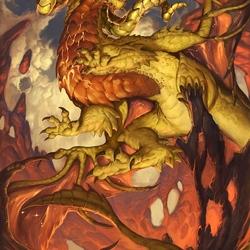 Пазл онлайн: Драконий зодиак: Овен