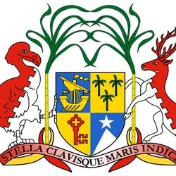 Пазл онлайн: Герб Республики Маврикий