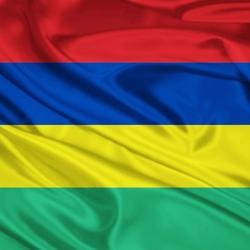 Пазл онлайн: Флаг Республики Маврикий