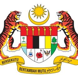 Пазл онлайн: Герб Малайзии
