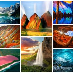 Пазл онлайн: Природа
