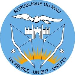Пазл онлайн: Герб Мали