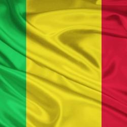 Пазл онлайн: Флаг Мали