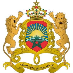 Пазл онлайн: Герб Марокко