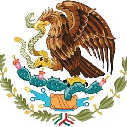 Пазл онлайн: Герб Мексики
