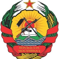 Пазл онлайн: Герб Республики Мозамбик