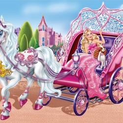 Пазл онлайн: Барби принцесса