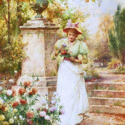 Пазл онлайн: Любимые цветы