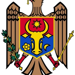 Пазл онлайн: Герб Молдавии