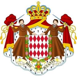Пазл онлайн: Герб Монако
