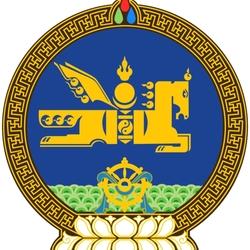 Пазл онлайн: Герб Монголии