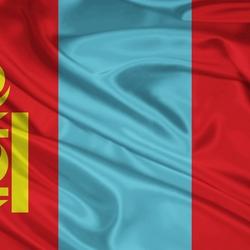 Пазл онлайн: Флаг Монголии