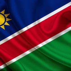 Пазл онлайн: Флаг Намибии