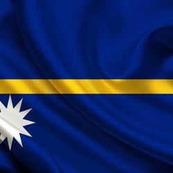 Пазл онлайн: Флаг Науру
