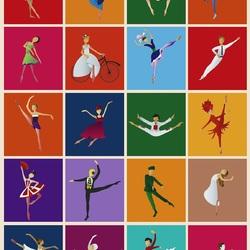 Пазл онлайн: Балеты Ратманского
