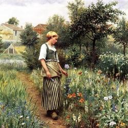 Пазл онлайн: Срезка цветов