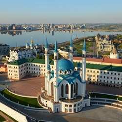 Пазл онлайн: Мечеть Кул-Шариф в Казанском кремле