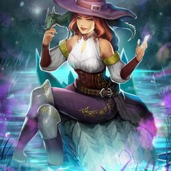 Пазл онлайн: Ведьмино озеро