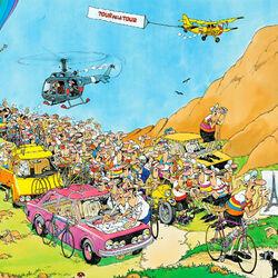 Пазл онлайн: Тур де Франс