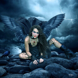 Пазл онлайн: Тёмная душа/Dark Night Of The Soul