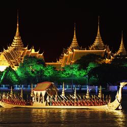 Пазл онлайн: Королевская баржа Суппанахонг