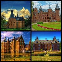 Пазл онлайн: Замки Нидерландов