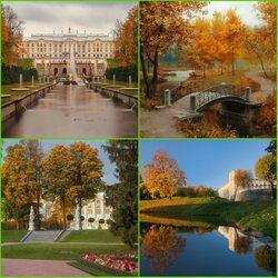 Пазл онлайн: Музейный пригород Петербурга