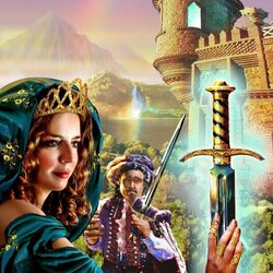 Пазл онлайн: Волшебный меч