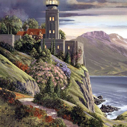 Пазл онлайн: Добро пожаловать на маяк!