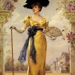 Пазл онлайн: Портрет мадам Дювеллерой
