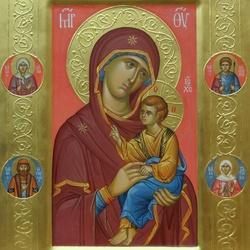 Пазл онлайн:  Икона Пресвятой Богородицы