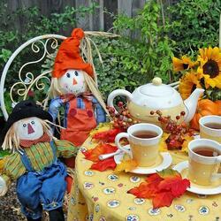 Пазл онлайн: Садовый дворик Эрин Хоутон