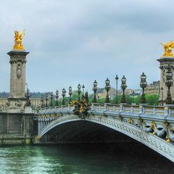 Пазл онлайн: Мост Александра III