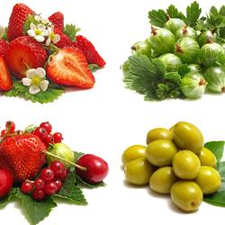 Пазл онлайн: Вкусные ягодки