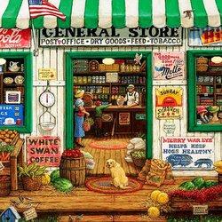 Пазл онлайн: Местный магазинчик